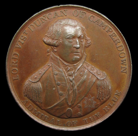 1797 Admiral Duncan Battle of Camperdown Medal - By Wyon