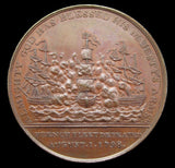 1798 Admiral Lord Nelson Battle Of The Nile 38mm Medal - By Wyon