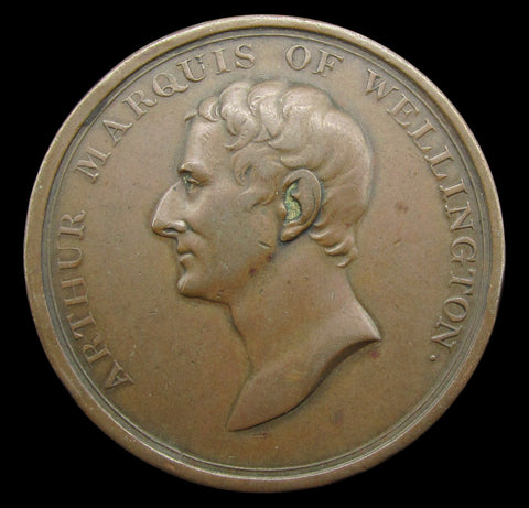 1812 Victories In The Peninsular War 36mm Medal