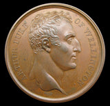 1815 English Army Enters Paris Louvre 41mm Medal - By Brenet