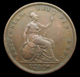 William IV 1831 Penny - VF