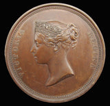 1837 Victoria Visit to the Guildhall Copper Medal