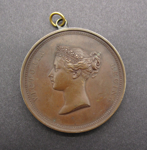 1837 Victoria Visit to the Guildhall 55mm Medal - By Wyon
