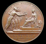 1838 Victoria Coronation Official Royal Mint Bronze Medal
