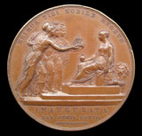 1838 Coronation Of Victoria Official Bronze Medal - Cased