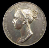 1838 Coronation Of Victoria Official Silver Medal - Cased