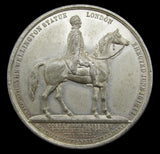 1844 Duke Of Wellington Royal Exchange 38mm Medal - By Allen & Moore