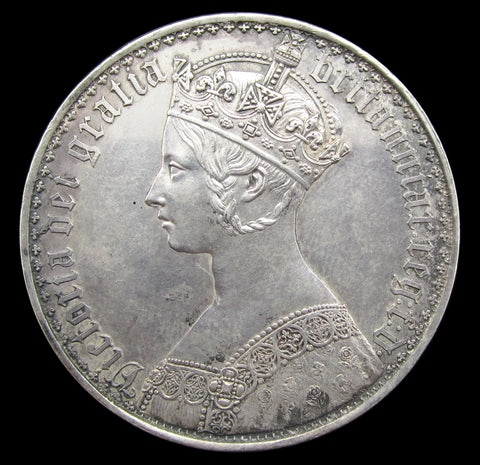 Victoria 1847 Gothic Proof Crown - GEF