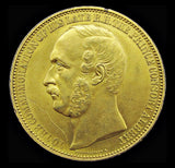 1862 International Exhibition Prince Albert Gilt Bronze Medal - By Wiener
