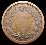 France 1866 Boulogne International Exposition 81mm Medal - By Dubois