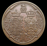 1879 Marriage Duke Of Connaught To Louise Of Prussia Medal - By Wyon