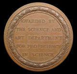 1884 Victoria Department of Science & Art Medal By Wyon - Cased