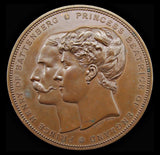1885 Marriage Of Princess Beatrice To Prince Henry Medal - By Wyon