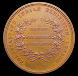1886 Colonial & Indian Exhibition Beekeepers Association Medal - By Wyon