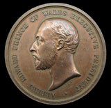 1886 Colonial & Indian Exhibition London 52mm Medal - By Wyon