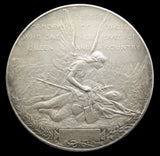 1900 South African War Memorial 52mm Silver Medal - By Fuchs