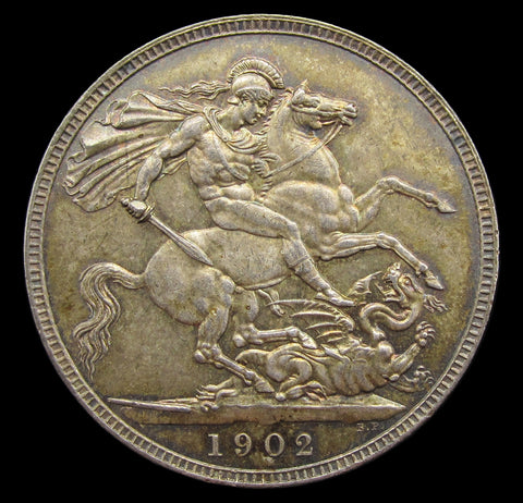 Edward VII 1902 Crown - EF