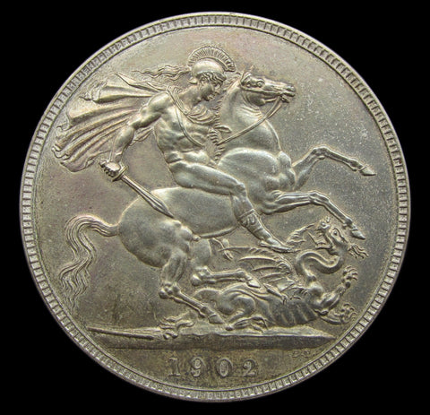 Edward VII 1902 Matt Proof Crown - A/UNC