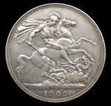 Edward VII 1902 Crown - GF