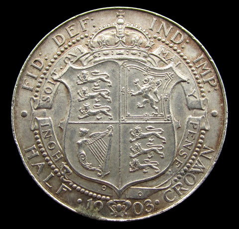 Edward VII 1903 Halfcrown - AEF
