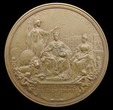 1911 Coronation Of George V 63mm Bronze Medal - By Bowcher