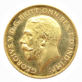 George V 1911 Proof Half Sovereign - nFDC