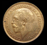 George V 1912 Halfpenny - UNC