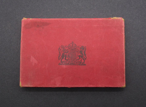 Royal Mint Card Case For George V 1927 6 Coin Proof Set