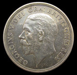 George V 1927 Proof Wreath Crown - GEF