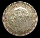 George V 1927 Proof Threepence - A/UNC
