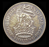 George V 1927 Proof Shilling - FDC