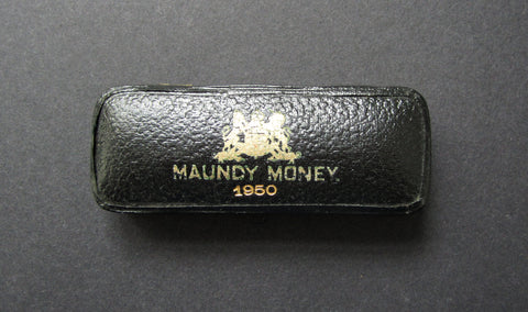 1950 Dated Hard Case For 4 Coin Maundy Set