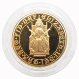Elizabeth II 1989 Proof Sovereign - FDC