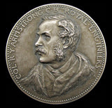 1902 Royal Engineers Armstrong Memorial Prize Silver Medal - By Bowcher