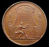 1685 Charles II Memorial 41mm Medal - By Dassier