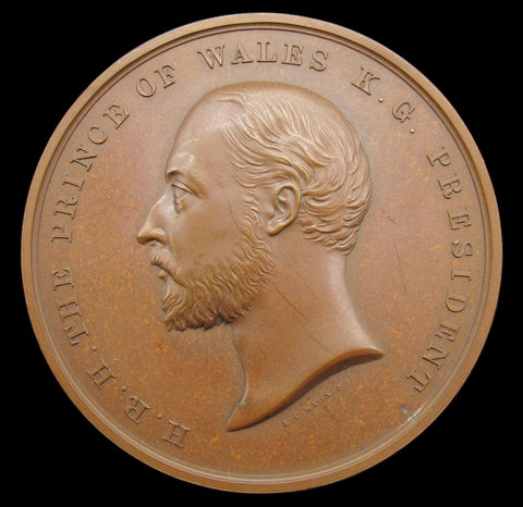 1897 Edward VII Technological Examination Medal By Pinches - Cased