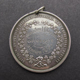 Ireland 1877 Catholic University Society 46mm Silver Medal