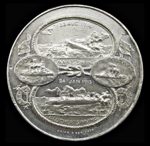 1915 Naval Actions At Heligoland Bight & Dogger Bank Medal