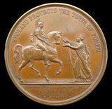 1813 Surrender Of Pamplona 41mm Medal - By Brenet