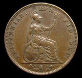 William IV 1831 Farthing - NEF