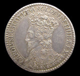 1633 Scottish Coronation of Charles I Silver Medal - By Briot
