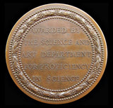 1890 Victoria Department of Science & Art Medal By Wyon - Cased