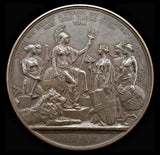 1897 Diamond Jubilee of Victoria 76mm Bronze Medal - By Bowcher