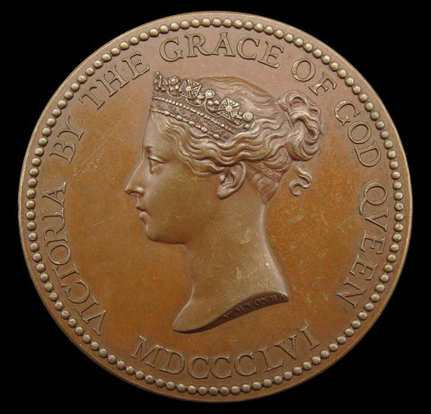 1865 Department Of Science & Art Queens Medal - By Wyon