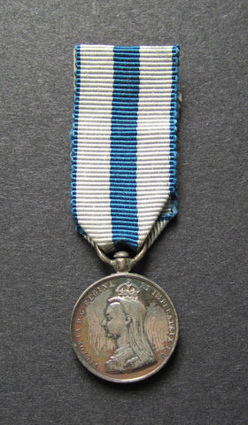 1897 Victoria Diamond Jubilee Miniature Silver Dress Medal