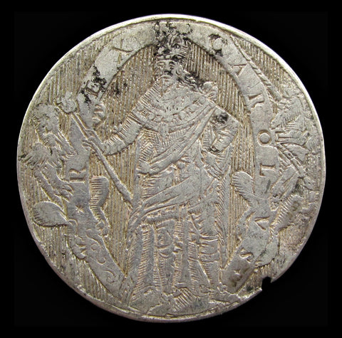 c.1632 King Charles I Silver Counter - By De Passe