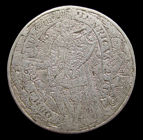 c.1632 King Henry II Silver Counter - By De Passe
