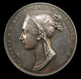 1838 Coronation of Victoria Official Silver Medal - By Pistrucci