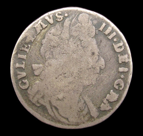 William III 1696 Sixpence - Second Bust
