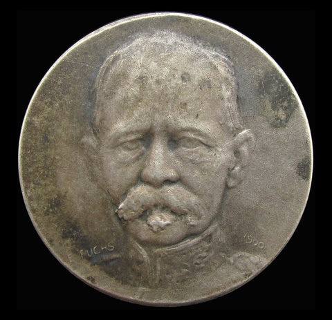 1900 Field Marshal Roberts 31mm Silver Medal - By Fuchs
